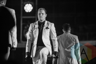 Brian Littrell of Backstreet Boys. (Photo: Lauren Garbutt/Aesthetic Magazine Toronto)
