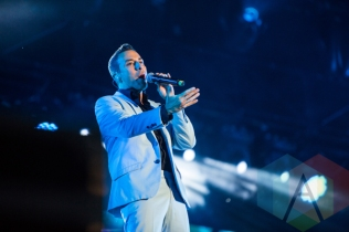 Howie Dorough of Backstreet Boys. (Photo: Lauren Garbutt/Aesthetic Magazine Toronto)