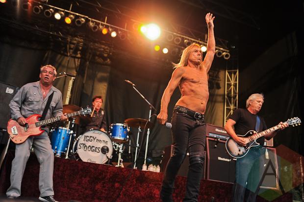 Iggy and The Stooges. (Photo: Stephen McGil/Aesthetic Magazine Toronto)