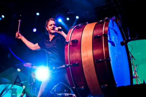 Dan Reynolds of Imagine Dragons. (Photo: Adam Harrison/Aesthetic Magazine Toronto)