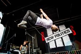 New Politics. (Photo: Dale Benvenuto/Aesthetic Magazine Toronto)