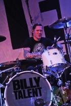 Aaron Solowoniuk of Billy Talent. (Photo: Stephen McGill/Aesthetic Magazine Toronto)