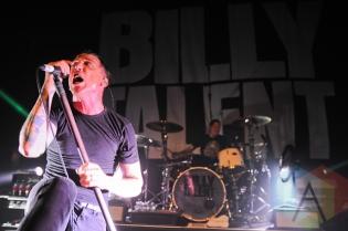 Ben Kowalewicz of Billy Talent. (Photo: Stephen McGill/Aesthetic Magazine Toronto)