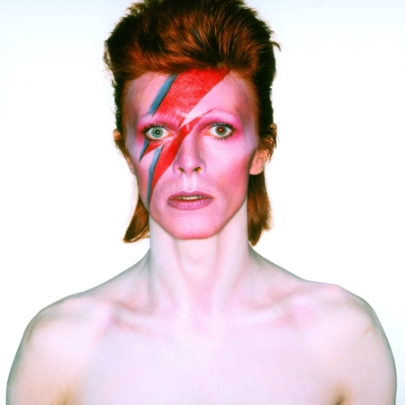 Album cover shoot for 'Aladdin Sane', 1973. (Photo: Brian Duffy. © Duffy Archive & The David Bowie Archive)