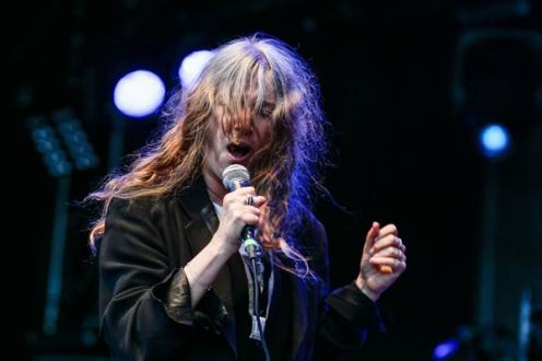 Patti Smith & Her Band. (Photo: Mark Horton)