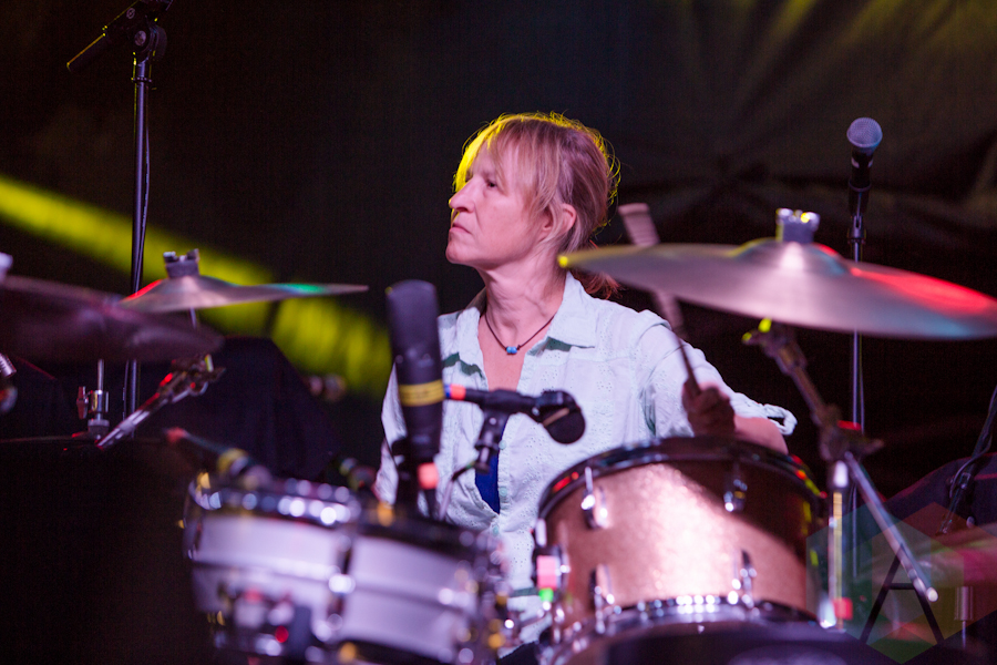 Georgia Hubley of Yo La Tengo. (Photo: Lauren Garbutt/Aesthetic ...
