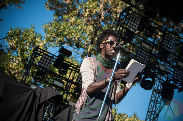 Saul Williams. (Photo: Katie Kuropas/Aesthetic Magazine Toronto)