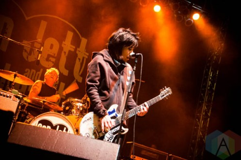 Joan Jett & The Blackhearts. (Photo: Katie Kuropas/Aesthetic Magazine Toronto)
