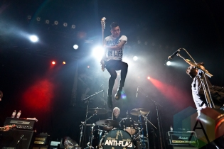 Anti-Flag. (Photo: Dale Benvenuto/Aesthetic Magazine Toronto)