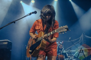 Thao & the Get Down Stay Down. (Photo: Neil Van/Aesthetic Magazine Toronto)