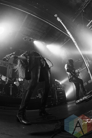 The Pretty Reckless. (Photo: Neil Van/Aesthetic Magazine Toronto)