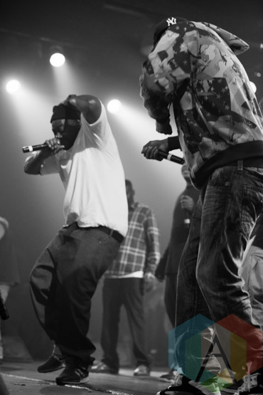 Wu-Tang Clan. (Photo: Dianna Lee/Aesthetic Magazine Toronto)