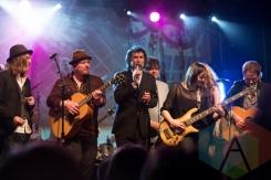 Andy Kim Christmas Band. (Photo: Bruce Emberley/Aesthetic Magazine Toronto)