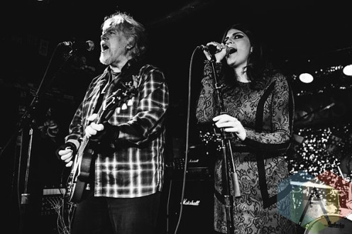 Randy Bachman (left) and Nikki Yanofsky (right). (Photo: Neil Van/Aesthetic Magazine Toronto)