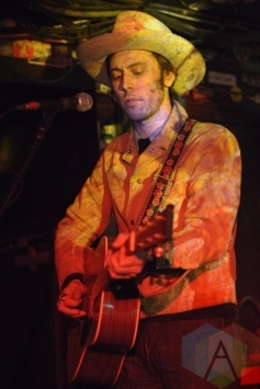Daniel Romano performing with The Sadies. (Photo: Steve Danyleyko/Aesthetic Magazine Toronto)