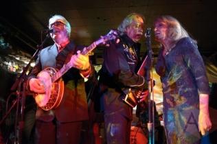 The Good Family performing with The Sadies. (Photo: Steve Danyleyko/Aesthetic Magazine Toronto)