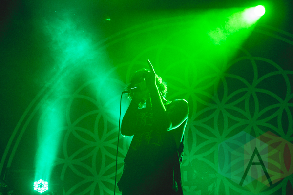 Bring Me The Horizon. (Photo: Dakota King/Aesthetic Magazine Toronto)