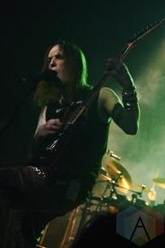 Children of Bodom. (Photo: Alex Moscall/Aesthetic Magazine Toronto)