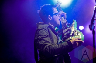 Weezer. (Photo: Stephen McGill/Aesthetic Magazine Toronto)