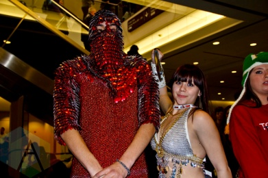 Chainmail at Toronto ComiCon. (Photo: Adam Harrison/Aesthetic Magazine Toronto)