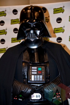 Darth Vader at Toronto ComiCon. (Photo: Adam Harrison/Aesthetic Magazine Toronto)