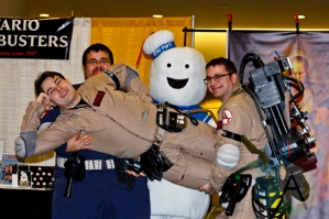 Ghostbusters at Toronto ComiCon. (Photo: Adam Harrison/Aesthetic Magazine Toronto)