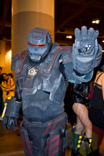 Iron Monger at Toronto ComiCon. (Photo: Adam Harrison/Aesthetic Magazine Toronto)