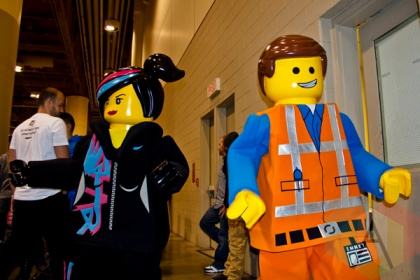 LEGO at Toronto ComiCon. (Photo: Adam Harrison/Aesthetic Magazine Toronto)