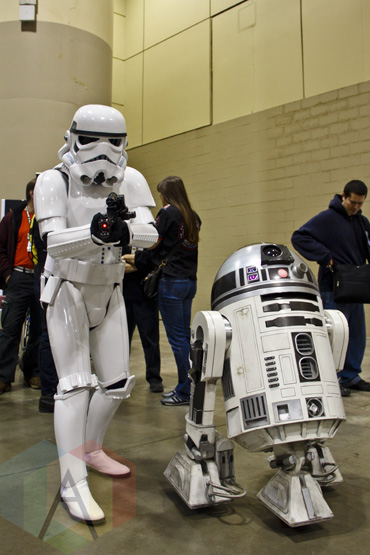 R2D2 at Toronto ComiCon. (Photo: Adam Harrison/Aesthetic Magazine Toronto)