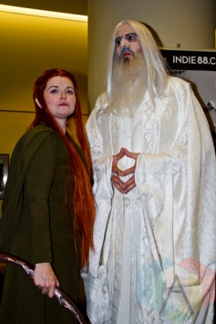 Saruman at Toronto ComiCon. (Photo: Adam Harrison/Aesthetic Magazine Toronto)