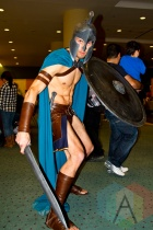Spartan at Toronto ComiCon. (Photo: Adam Harrison/Aesthetic Magazine Toronto)