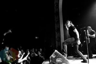 Scott Stapp. (Photo: Adam Harrison/Aesthetic Magazine Toronto)
