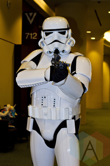 Stormtrooper at Toronto ComiCon. (Photo: Adam Harrison/Aesthetic Magazine Toronto)