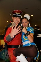 Street Fighter at Toronto ComiCon. (Photo: Adam Harrison/Aesthetic Magazine Toronto)