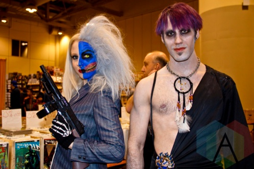 Two-Face at Toronto ComiCon. (Photo: Adam Harrison/Aesthetic Magazine Toronto)