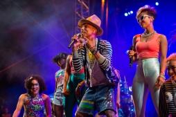 Pharrell Williams at Coachella Weekend 2. (Photo: Thomas Hawk)