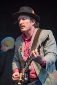 Joe Lapinski of The Woodshed Orchestra. (Photo: Lauren Garbutt/ Aesthetic Magazine Toronto)