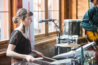 Amy Williams of Love Banshee. (Photo: Lauren Garbutt/Aesthetic Magazine Toronto)