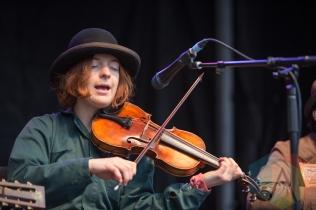 Minnie Hart of The Ever-Lovin' Jug Band. (Photo: Lauren Garbutt/Aesthetic Magazine Toronto)