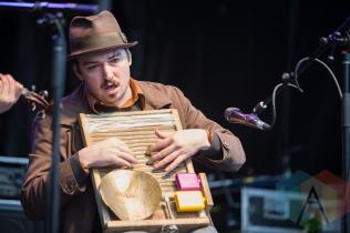 Buck Thompson of The Ever-Lovin' Jug Band. (Photo: Lauren Garbutt/Aesthetic Magazine Toronto)