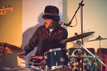 Dave Clark of the Joe Lapinski Band. (Photo: Lauren Garbutt/Aesthetic Magazine Toronto)
