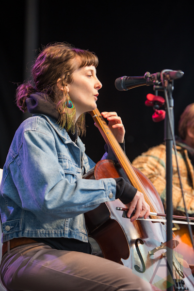 Amy Williams of The Ever-Lovin' Jug Band. (Photo: Lauren Garbutt/Aesthetic Magazine Toronto)