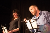 Brian Foster and Deanne Jones of Suitcase In Point Theatre Company. (Photo: Lauren Garbutt/Aesthetic Magazine Toronto)