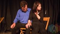 Edwin Conroy Jr. and Natasha Pedros of The Suitcase In Point Theatre Company. (Photo: Lauren Garbutt/Aesthetic Magazine Toronto)
