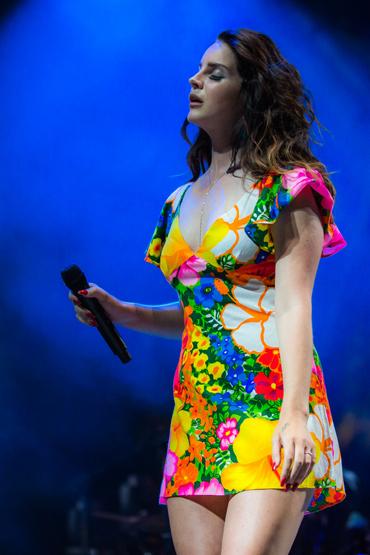 Lana Del Rey at Coachella Weekend 2. (Photo: Thomas Hawk)