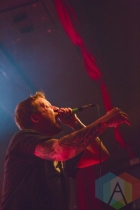 Andrew Neufeld of Comeback Kid. (Photo: Lauren Garbutt/Aesthetic Magazine Toronto)
