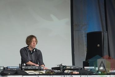 Daniel Avery at Electric Island 2014. (Photo: Morgan Hotston/Aesthetic Magazine Toronto)
