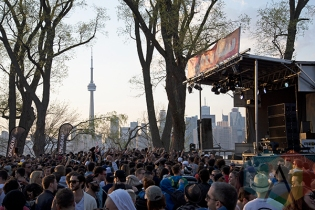 Electric Island 2014. (Photo: Morgan Hotston/Aesthetic Magazine Toronto)