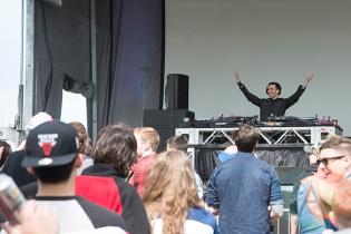 Jamie Kidd at Electric Island 2014. (Photo: Morgan Hotston/Aesthetic Magazine Toronto)