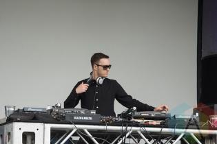 Jonathan Rosa at Electric Island 2014. (Photo: Morgan Hotston/Aesthetic Magazine Toronto)